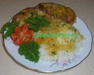 Рыбные котлеты из минтая с рисом