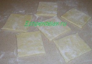 слоеное тесто для кармашков