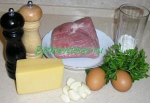 Рецепт рулетиков из свинины с начинкой