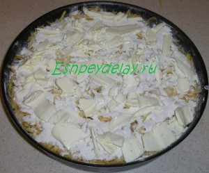 пирог с тыквой на листе для запекания