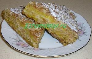 простой тыквенный пирог