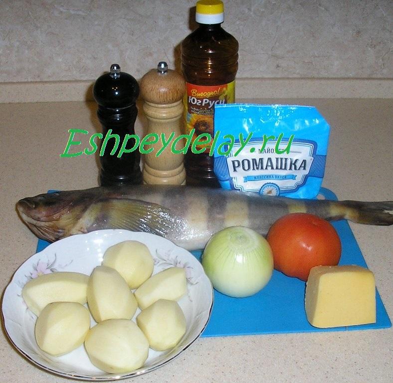 как приготовить терпуг с картошкой в духовке