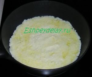 тесто для торта из кабачков на сковороде