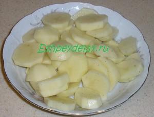 картошка к терпугу