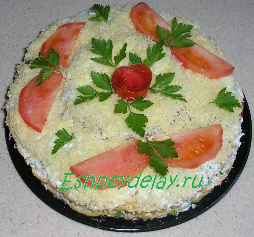 торт из кабачков