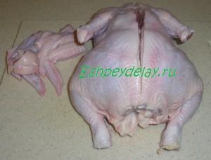 целая курица