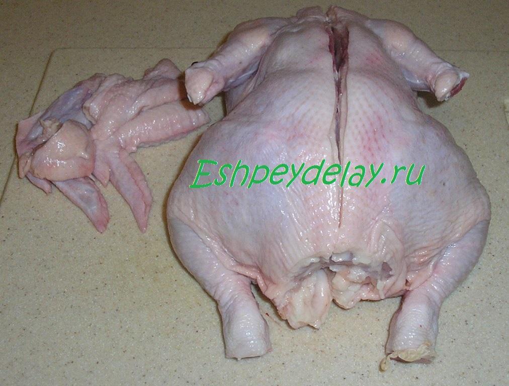 блюда из курицы целой рецепты с фото