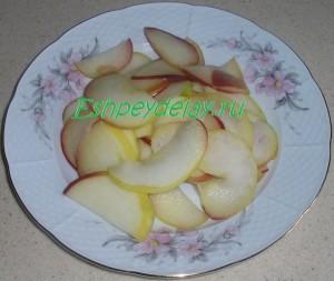 вареные в сиропе яблоки