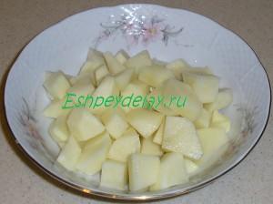 картошка для рассольника