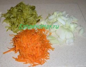 тертые овощи для рассольника