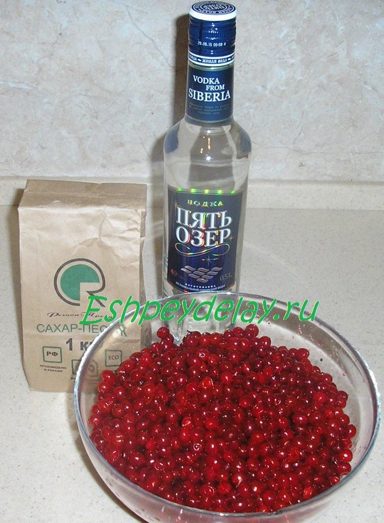 Настойка из замороженных ягод в домашних условиях простой рецепт