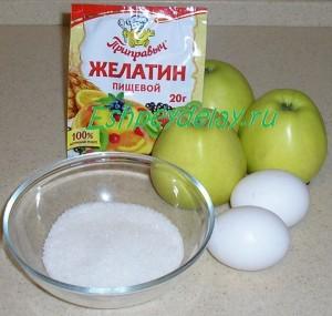 Рецепт самбука из яблок