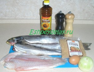 рецепт рубленных рыбных котлет