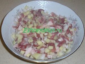 начинка для татарских пирожков с мясом
