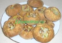 пирожки с мясом по-татарски