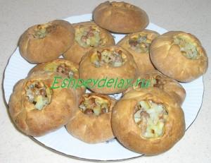 Татарские пирожки с мясом