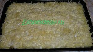 домашняя лазанья с фаршем и грибами