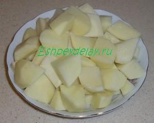 картошка для азу