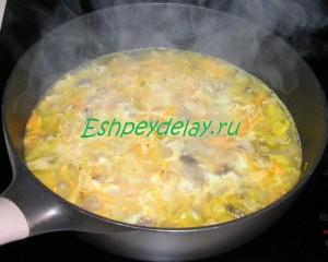 грибная заправка для супа с курицей