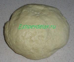 тесто для печенья на сметане с мёдом