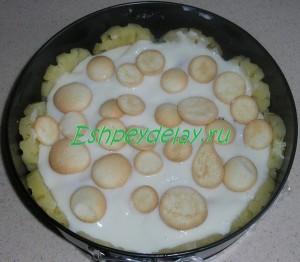 печенье на молочном желе