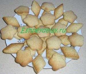 вкусное печенье на сметане с медом