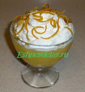 десерт из апельсинов с маскарпоне