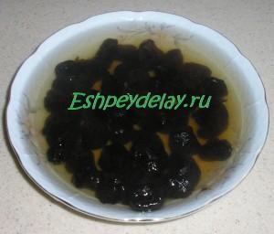 чернослив залитый кипятком