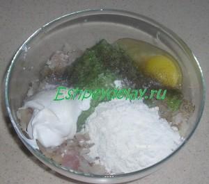 ингредиенты для рыбных котлет из минтая