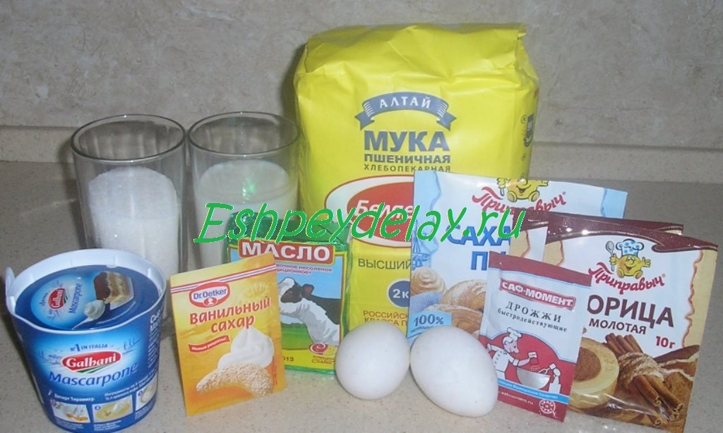 Булочки Синнабон рецепт в домашних условиях