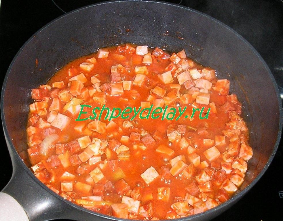 солянка не суп мясная солянка рецепт