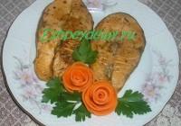 жареные стейки семги