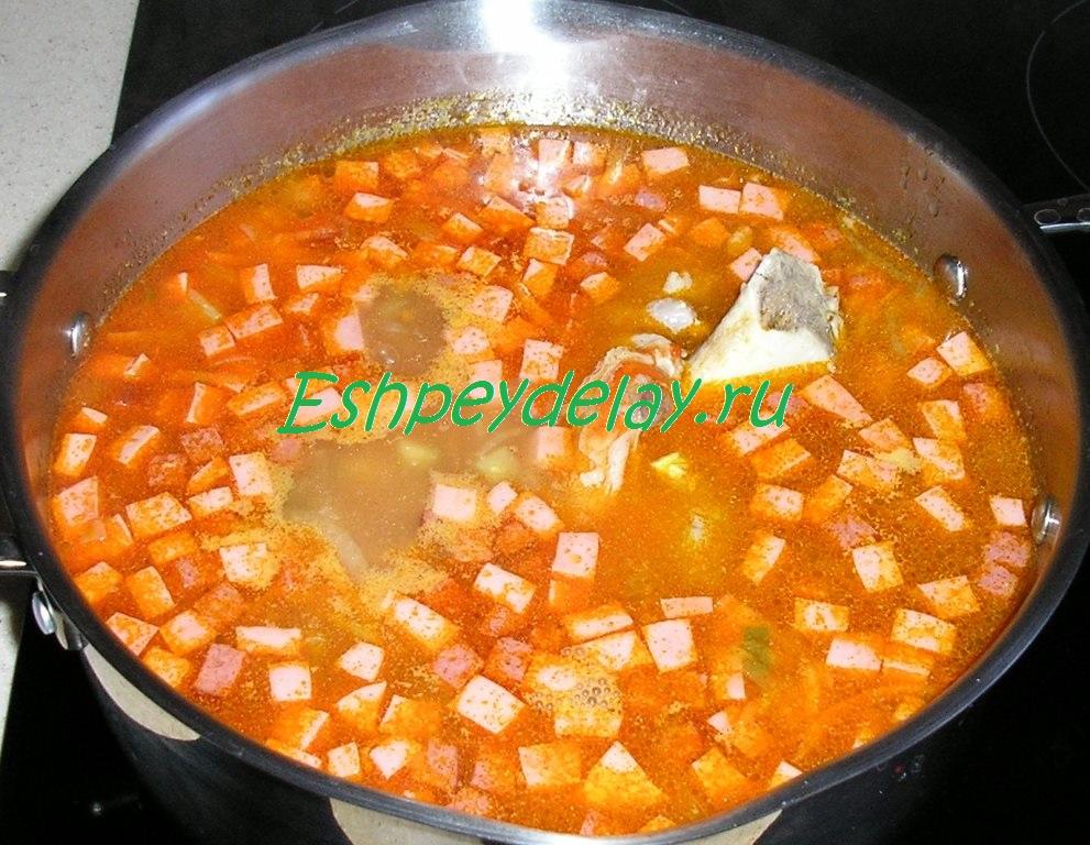 гороховый суп рецепт приготовления i