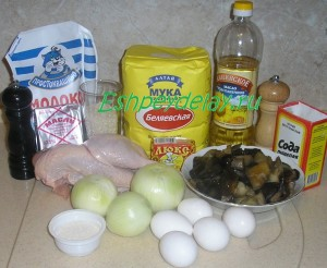 Рецепт классического курника