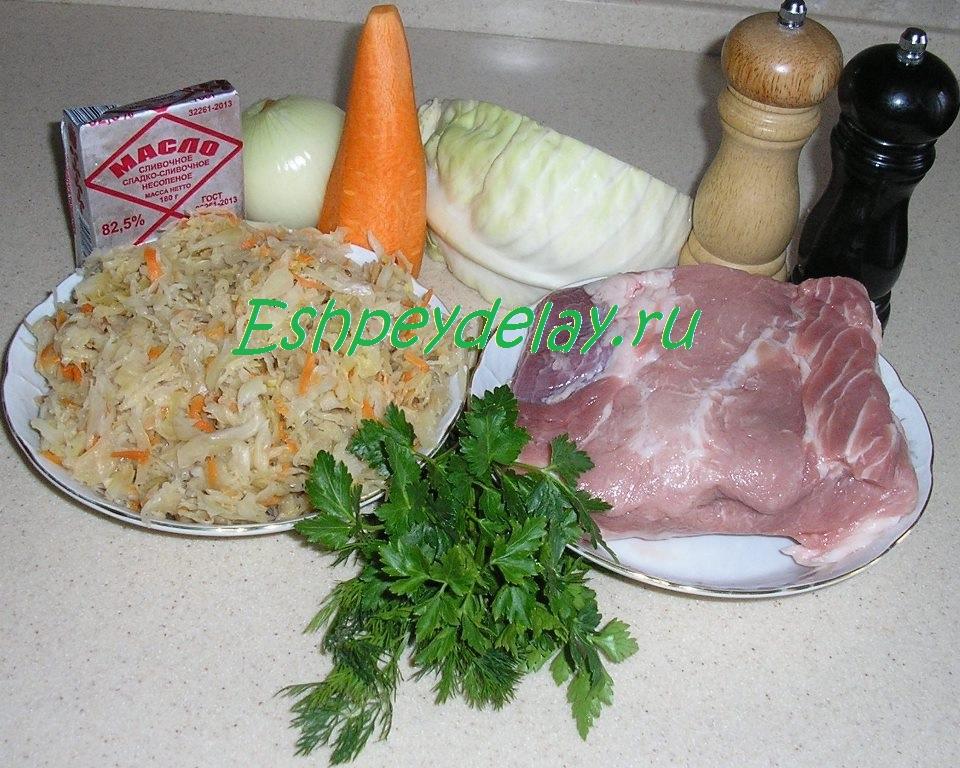 рецепт приготовления бигуса из квашеной капусты с картофелем