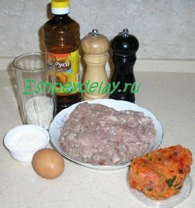 Рецепт ёжиков из фарша с рисом на сковороде