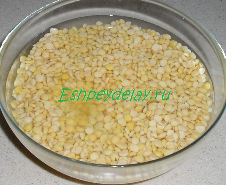 Как сварить гороховую кашу в мультиварке пошаговый рецепт