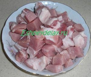мясо для бигуса