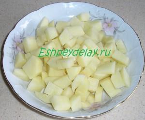 картошка для горохового супа