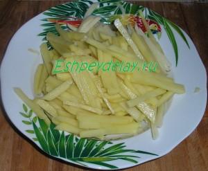 картошка мелкими брусочками