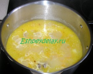 вкусный гороховый суп с гренками