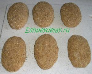 мясные зразы с грибами в сухарях