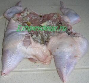 фаршируем курицу