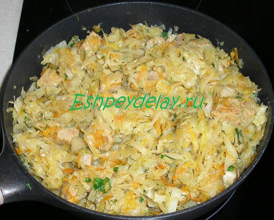 бигус с капустой и картошкой