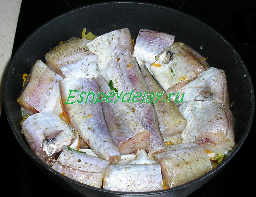 Рыба минтай с в духовке рецепты