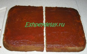 Вкусная медовая коврижка