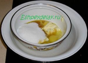 ингредиенты для теста на водяной бане