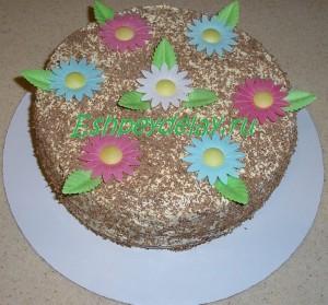 домашний торт сказка