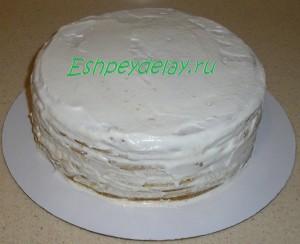 торт рыжик сметанный