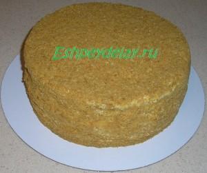 торт рыжик в домашних условиях